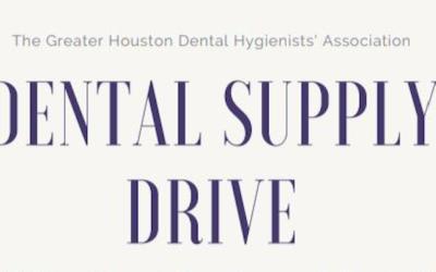 GHDHA October Dental Supply Drive 10/1/19