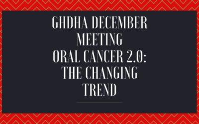 GHDHA December Meeting & CE 12/3/19