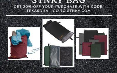 TDHA 20% OFF STNKY Bags!