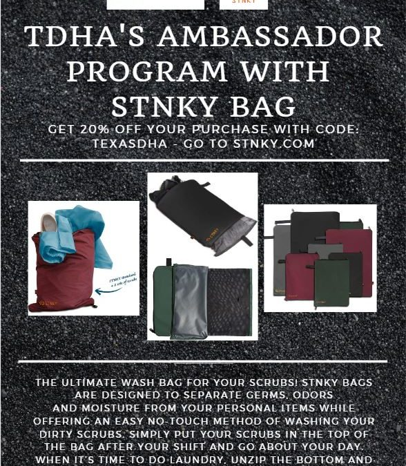 TDHA 20% OFF STNKY Bags!
