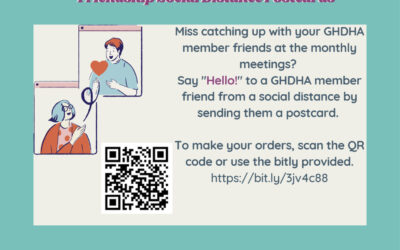 Send a Postcard to a GHDHA Member!