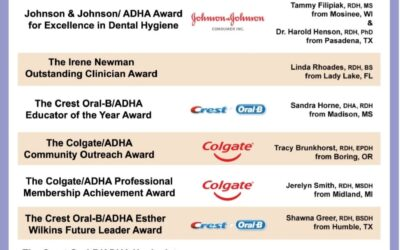 ADHA Award Winners!
