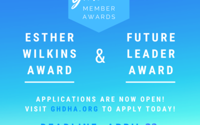 GHDHA Member Award Applications: Deadline 4/23/21