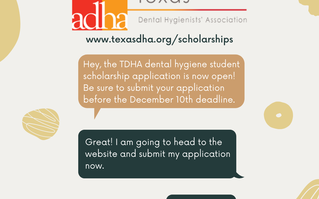 TDHA Student Scholarships Open
